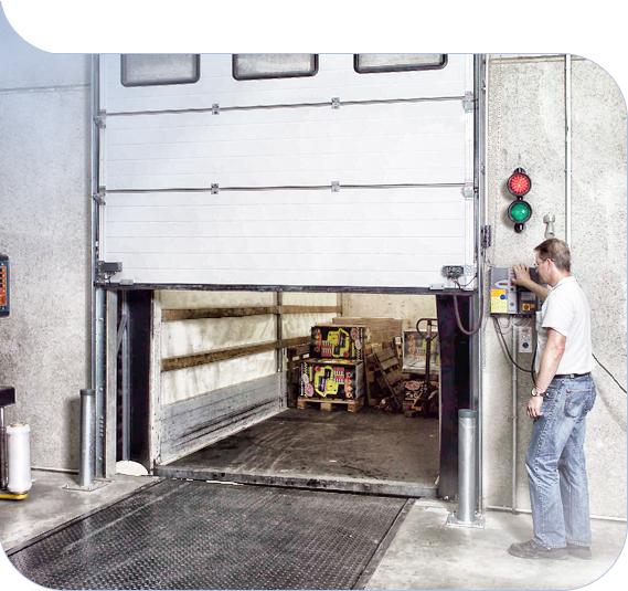 Baie di carico - manutenzione effettuata da Farma